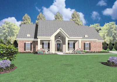 Traditional Style House Plans Plan: 18-405