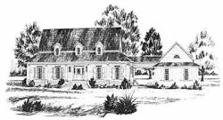 New-England-Colonial Style Floor Plans Plan: 18-415
