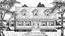 Country Style House Plans Plan: 18-419