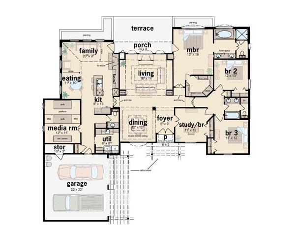 Main Floor Plan: 18-421