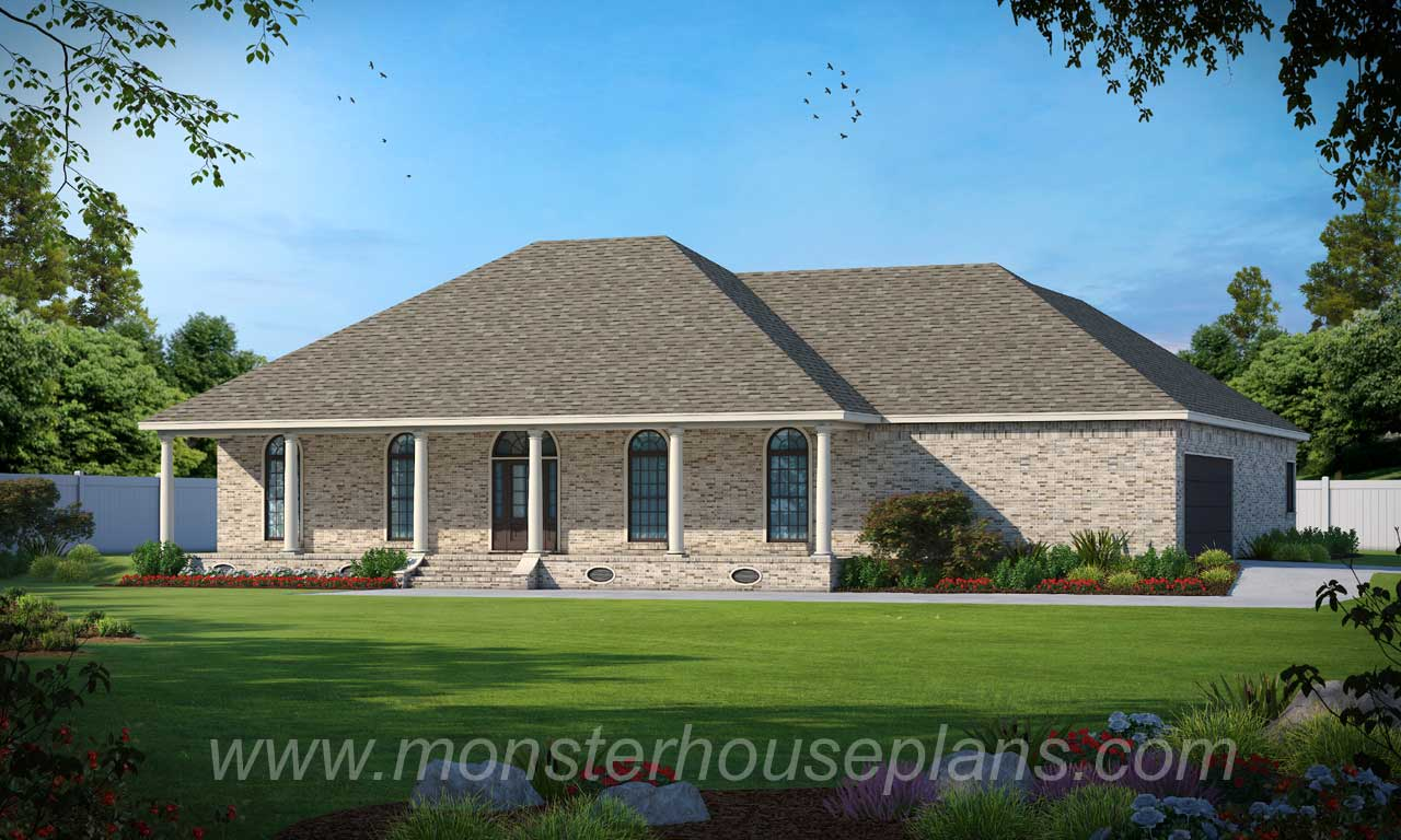 French-country Style House Plans Plan: 18-425
