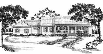 Ranch Style Floor Plans Plan: 18-440