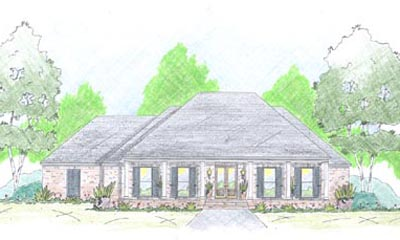 French-country Style Floor Plans 18-450