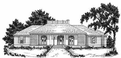 Ranch Style House Plans Plan: 18-453