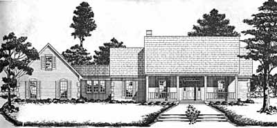 Country Style Floor Plans Plan: 18-457