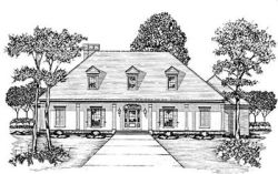 Country Style House Plans Plan: 18-458