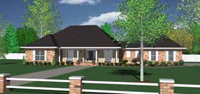 Ranch Style House Plans Plan: 18-459