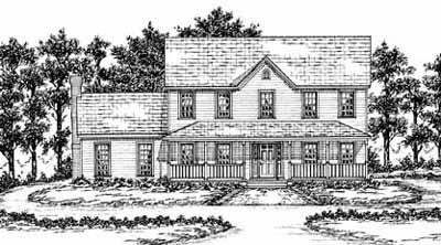 Farm Style Floor Plans Plan: 18-467