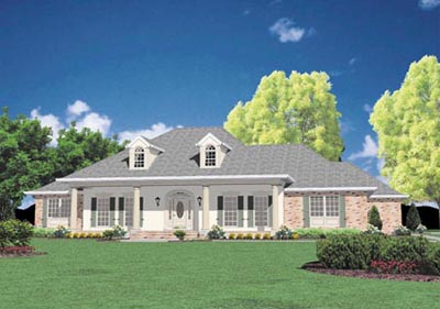 Southern Style Floor Plans Plan: 18-468