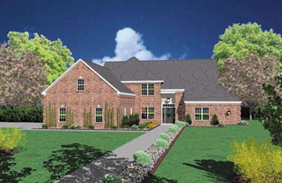 Traditional Style House Plans Plan: 18-469