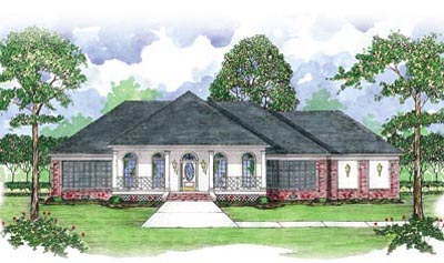 Country Style House Plans Plan: 18-473