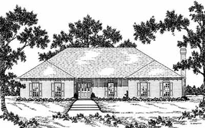 Ranch Style House Plans Plan: 18-476