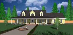 Southern Style Floor Plans Plan: 18-479