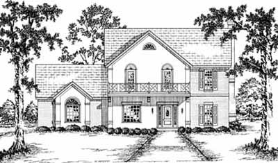Traditional Style House Plans Plan: 18-483
