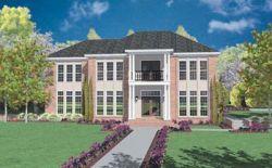 Plantation Style Floor Plans Plan: 18-486