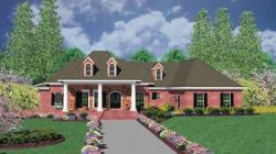Country Style Floor Plans Plan: 18-497