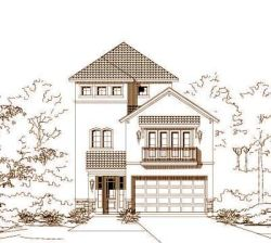 Traditional Style Home Design Plan: 19-1006