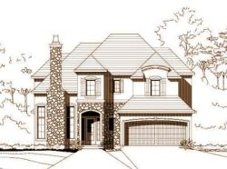 French-Country Style Floor Plans Plan: 19-1008