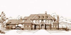 Traditional Style House Plans Plan: 19-1009
