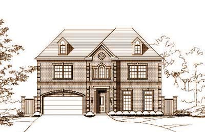 Traditional Style House Plans Plan: 19-1018