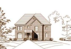 Traditional Style Home Design Plan: 19-1024