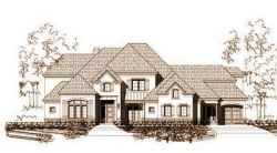 French-Country Style Floor Plans Plan: 19-1027