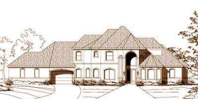 Traditional Style House Plans Plan: 19-1031
