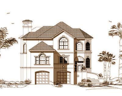 Sunbelt Style Floor Plans Plan: 19-1043