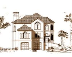Sunbelt Style House Plans Plan: 19-1043