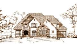 French-Country Style Floor Plans Plan: 19-1045