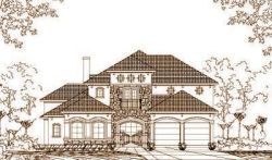 Tuscan Style Floor Plans Plan: 19-1063