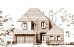 French-Country Style Home Design Plan: 19-1071