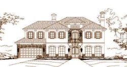 Tuscan Style Home Design Plan: 19-1075