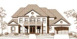 Southern-Colonial Style Floor Plans Plan: 19-1088