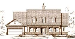 French-Country Style House Plans Plan: 19-1090