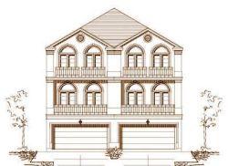 Mediterranean Style Home Design Plan: 19-1093