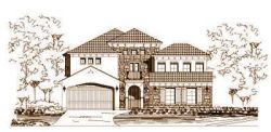 Tuscan Style Home Design Plan: 19-1102