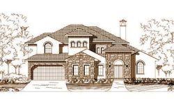Tuscan Style Home Design Plan: 19-1104