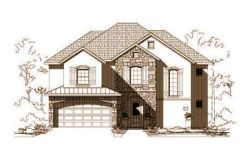 French-Country Style Home Design Plan: 19-1111