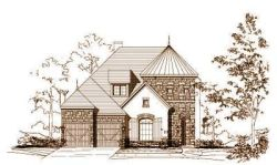 French-Country Style Floor Plans Plan: 19-1125