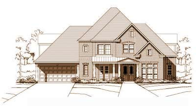Traditional Style Home Design Plan: 19-113