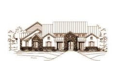 Country Style Home Design Plan: 19-1132