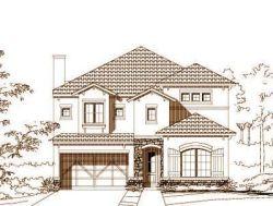 Mediterranean Style Home Design Plan: 19-1134