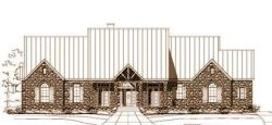 French-Country Style Floor Plans Plan: 19-1145