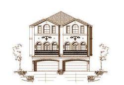 European Style House Plans Plan: 19-1152