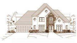 French-Country Style Home Design Plan: 19-117