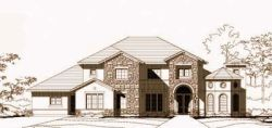 Mediterranean Style House Plans Plan: 19-1182