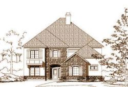 French-Country Style House Plans Plan: 19-1193