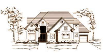 Traditional Style House Plans Plan: 19-121