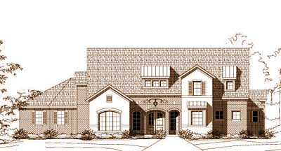 Traditional Style House Plans Plan: 19-1217
